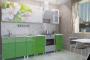 Термит кухня Яблоневый цвет фотопечать
